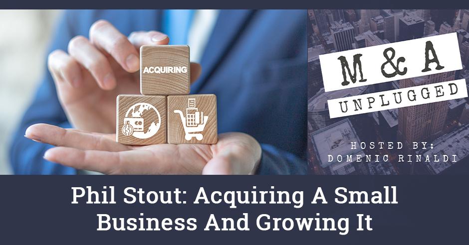 MAU 19   Acquiring A Small Business