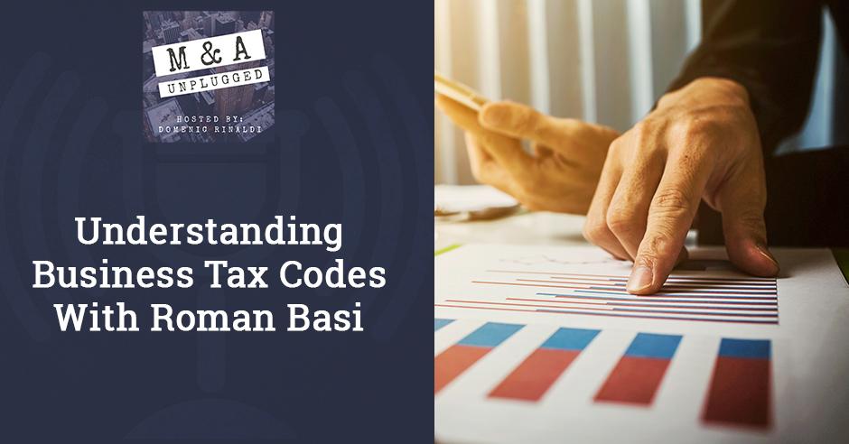 MAU 40   Business Tax Codes